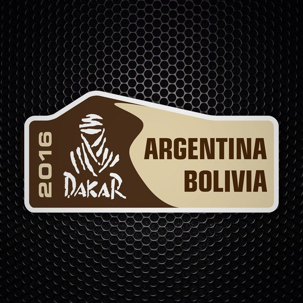 Car & Motorbike Stickers: Dakar 2016