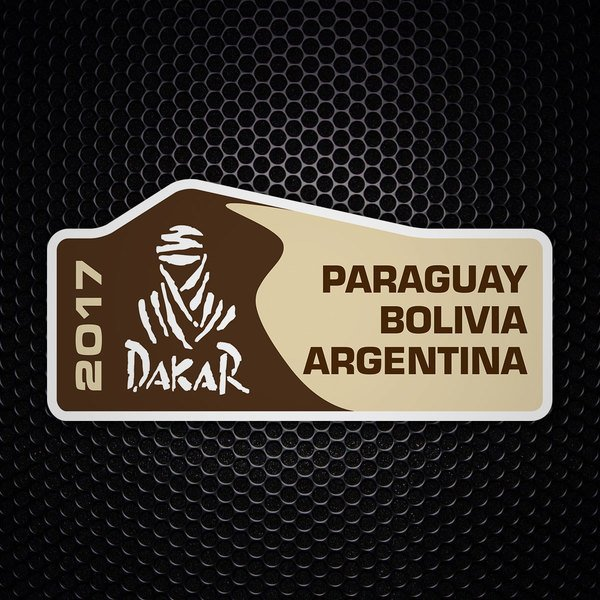 Car & Motorbike Stickers: Dakar 2017