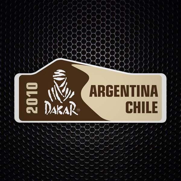 Car & Motorbike Stickers: Dakar 2010