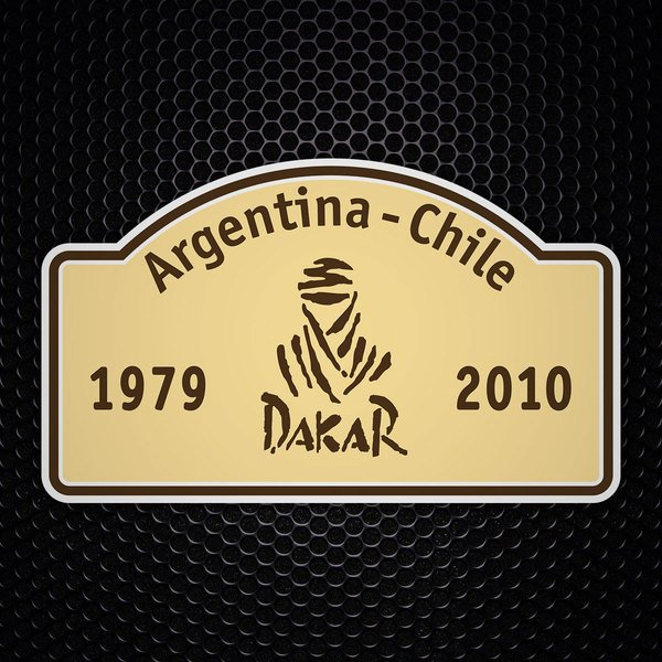 Car & Motorbike Stickers: Dakar 1979-2010