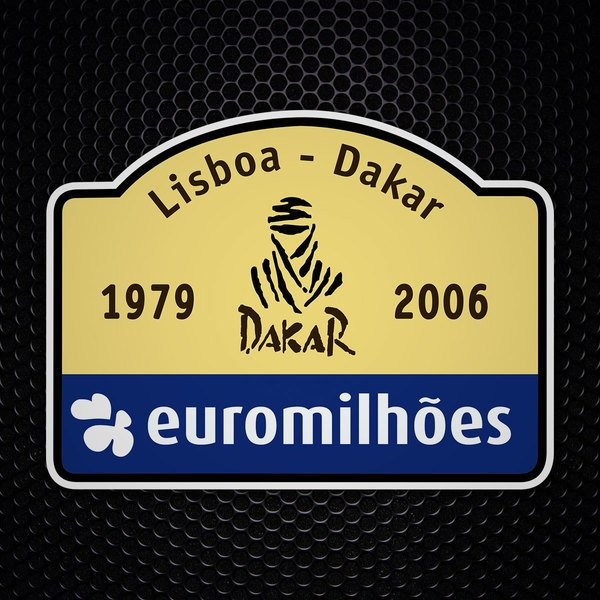 Car & Motorbike Stickers: Dakar 2006