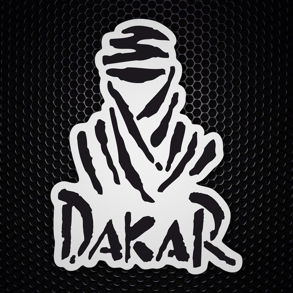 Car & Motorbike Stickers: Logo Dakar
