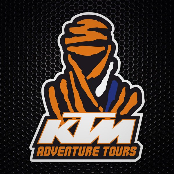 Car & Motorbike Stickers: Dakar KTM Adventure Tours