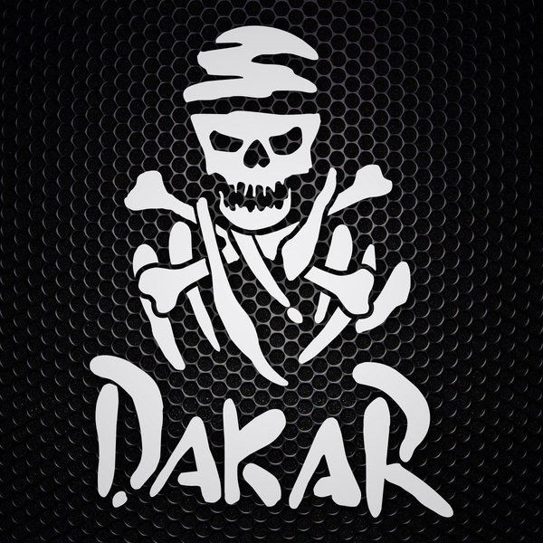 Car & Motorbike Stickers: Pirate Dakar