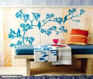 Wall Stickers: Branch of a tree in spring 2