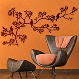 Wall Stickers: Branch of a tree in spring 4