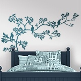 Wall Stickers: Branch of a tree in spring 5