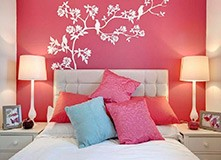 Wall Stickers: Branch of a tree in spring 8