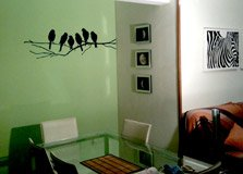 Wall Stickers: 6 Birds on a branch 5