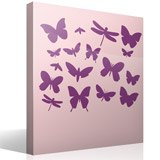 Wall Stickers: Kit 17 Insects 7
