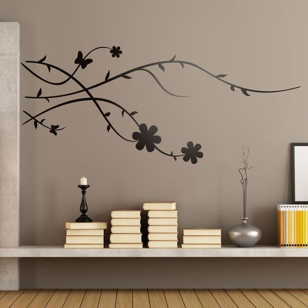 Wall Stickers: Floral Brunia