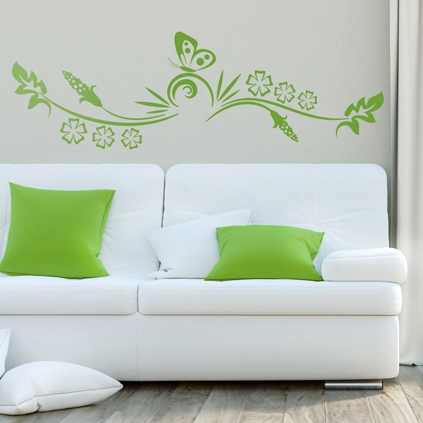 Wall Stickers: Floral Vella