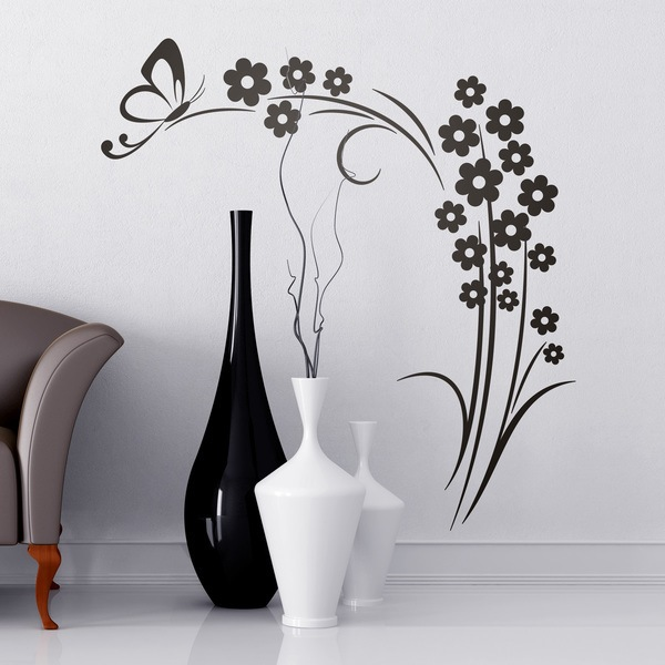 Wall Stickers: Floral Ilitia
