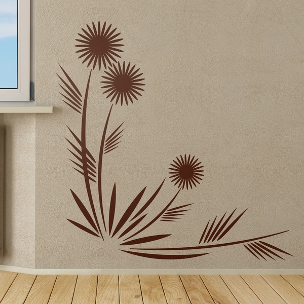 Wall Stickers: Floral Camelia
