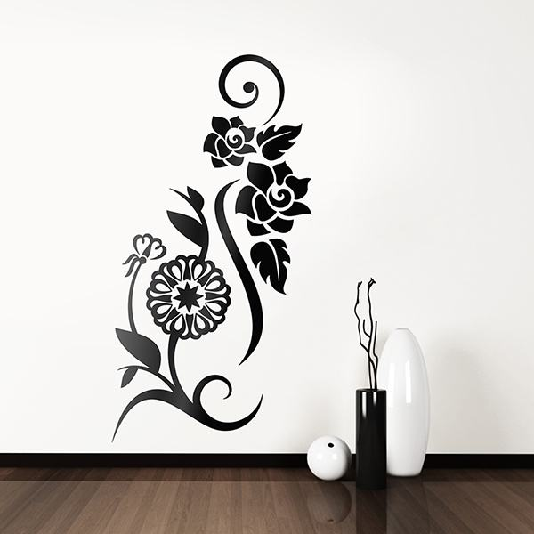 Wall Stickers: Floral Vesta