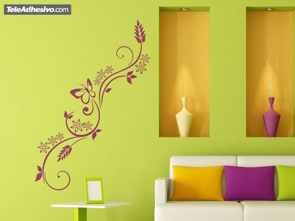 Wall Stickers: Floral Brexia