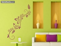 Wall Stickers: Floral Brexia 3