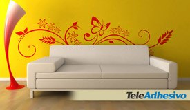 Wall Stickers: Floral Brexia 6