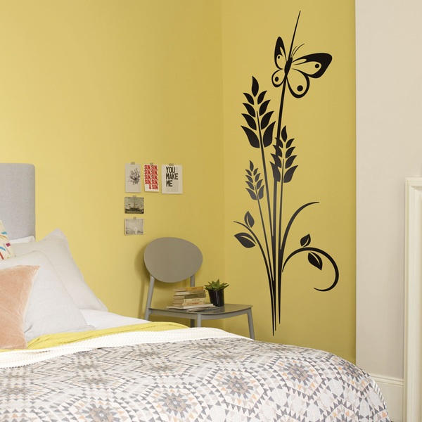Wall Stickers: Floral ears of wheat