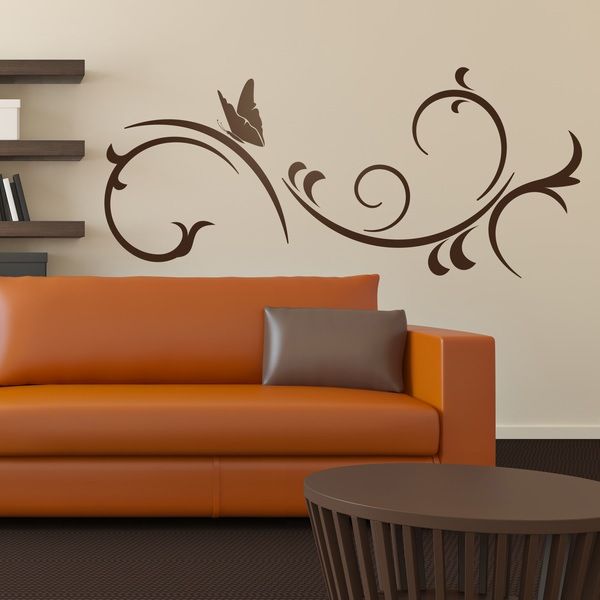 Wall Stickers: Butterfly and wind