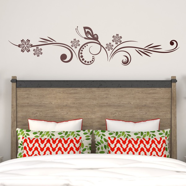 Wall Stickers: Floral Tique