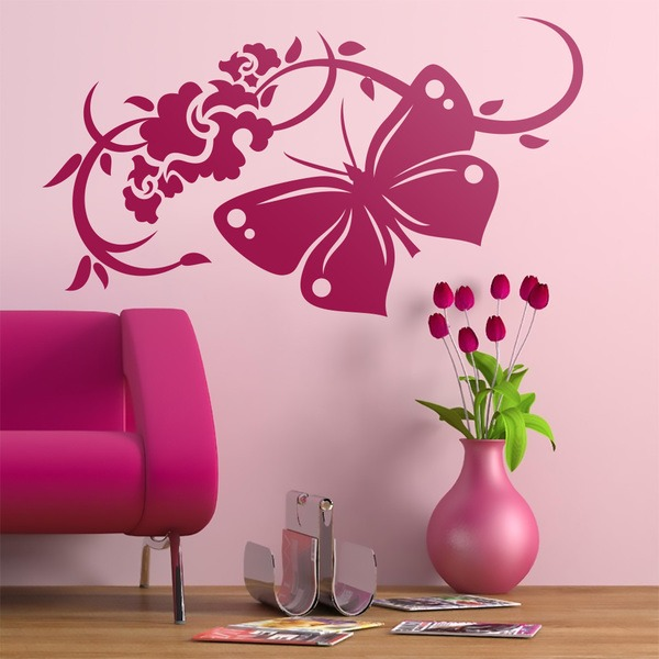 Wall Stickers: Floral Gea