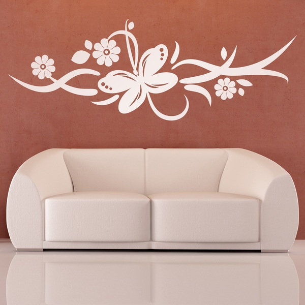 Wall Stickers: Floral Tefnut