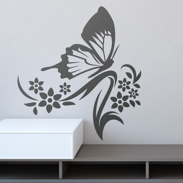 Wall Stickers: Floral Anemoi