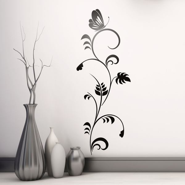 Wall Stickers: Floral Melia