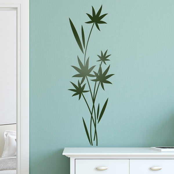 Wall Stickers: Floral Cyperus
