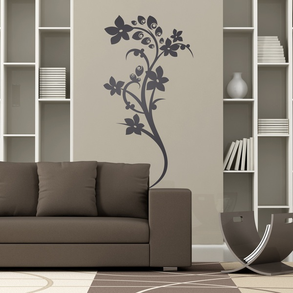 Wall Stickers: Floral 128