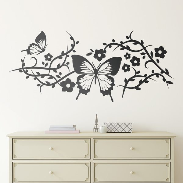 Wall Stickers: Floral Minerva