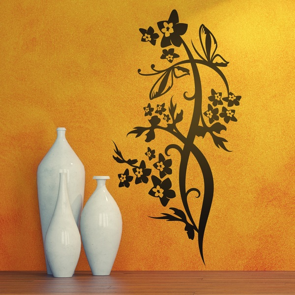 Wall Stickers: Floral Tueris