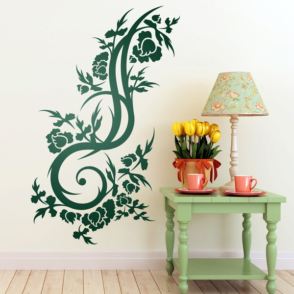 Wall Stickers: Floral Nix