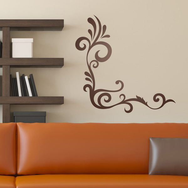 Wall Stickers: Floral Corner Ambar