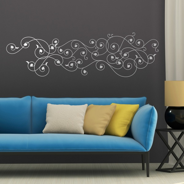 Wall Stickers: Floral Hura