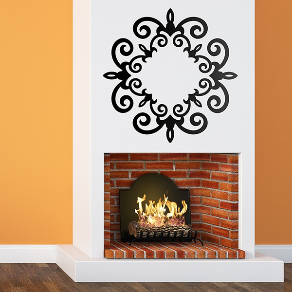 Wall Stickers: Ornamental 50