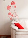 Wall Stickers: Adonis floral 2