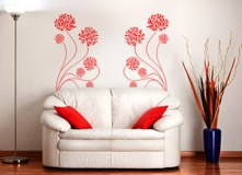 Wall Stickers: Adonis floral 3