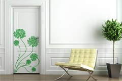 Wall Stickers: Adonis floral 4
