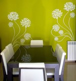 Wall Stickers: Adonis floral 7