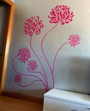 Wall Stickers: Adonis floral 8