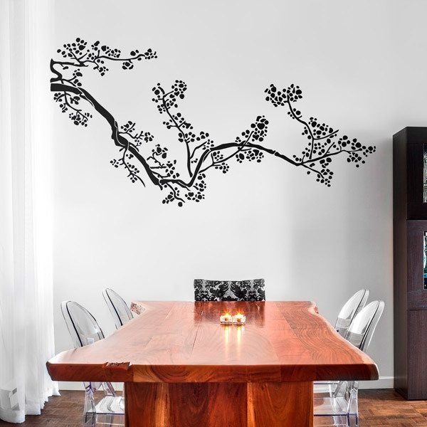 Wall Stickers: Floral Kamatsu