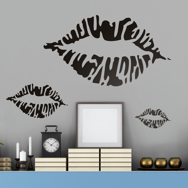 Wall Stickers: Lips Kit