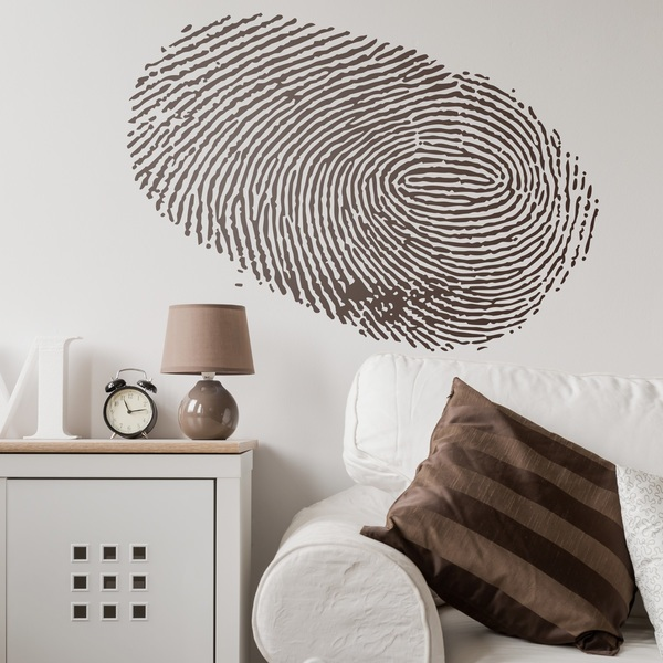 Wall Stickers: Fingerprint