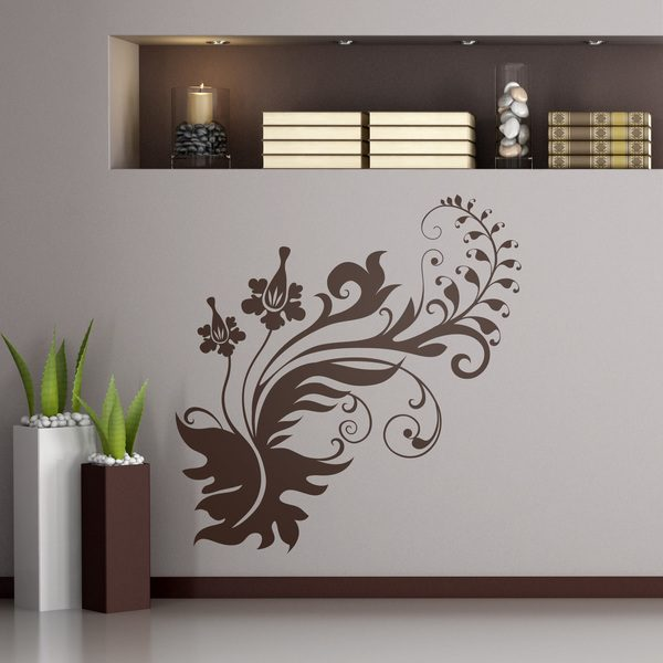 Wall Stickers: Floral Ra