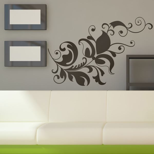 Wall Stickers: Floral Columbo