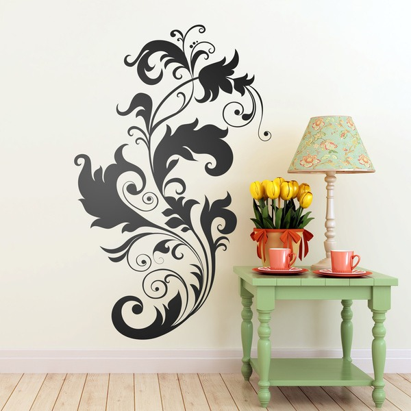 Wall Stickers: Floral Mut