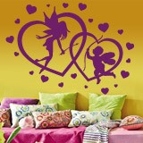 Wall Stickers: Hearts Fairy and Cupid 2