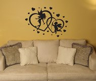 Wall Stickers: Hearts Fairy and Cupid 3